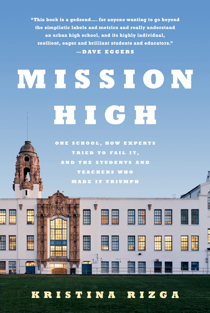 Photo of the book cover for Mission High